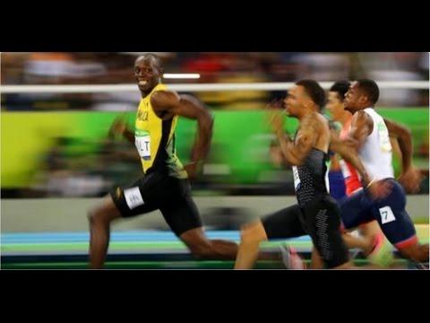 里約奧運田徑男子100公尺-閃電波特3連霸 奪金