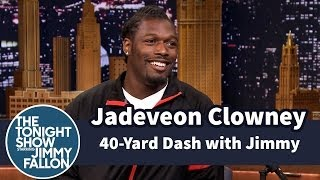 Jimmy asks Jadeveon about his NFL draft first-round pick status and what he's going to do with all his millions after he's signed.