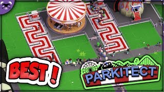 Parkitect Ep 1 | BETTER THAN PLANET COASTER?! | Let's Play Gameplay Walkthrough - Review