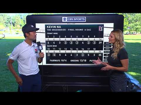 Kevin Na Greenbrier Win