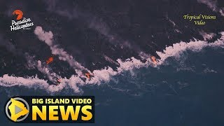 Hawaii Volcano Eruption Update - Monday Morning (Aug. 13, 2018)