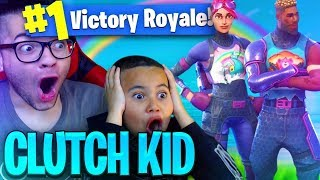 OMG *NEW* SKIN MADE MY 9 YEAR OLD BROTHER UNSTOPPABLE IN FORTNITE BATTLE ROYALE! MINDOFREZ EXPOSED!?