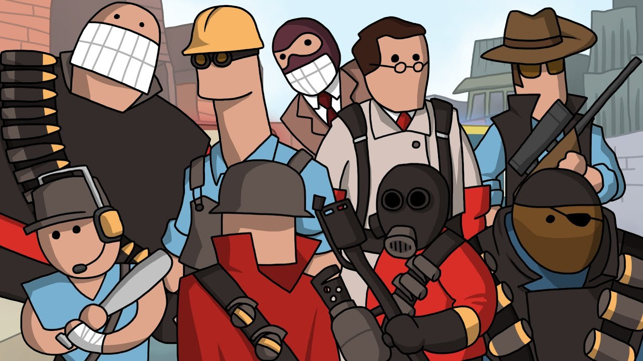 team fortress 2 meet the heavy robot suit