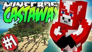 Minecraft CASTAWAY Island Survival Server [1] HOW DID I GET HERE?!