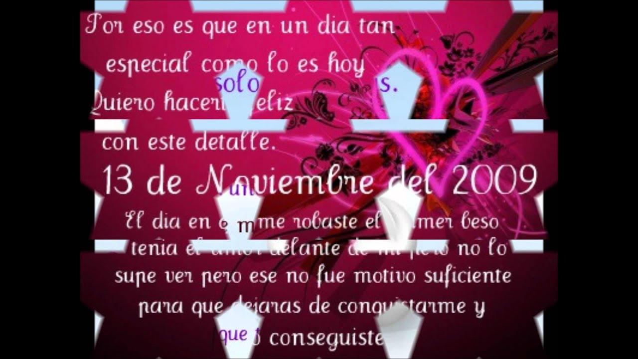Feliz Aniversario Mi Amor: Feliz Aniversario Mi Amor.wmv