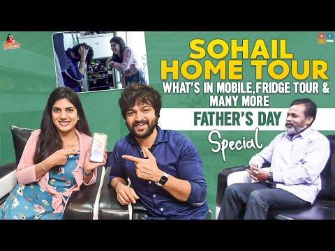 Deepthi shares Bigg Boss Sohel's home tour