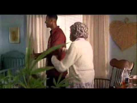 Don't Be A Menace- Grandma gets knocked out - YouTube