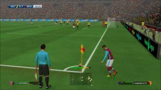 ماسترليج وست هام يونايتد 1 - 0 واتفورد ( pes 2017 )     -