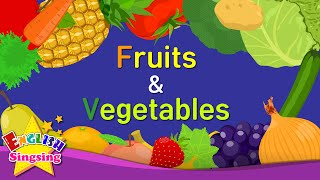 Kids vocabulary -[Old] Fruits & Vegetables - Learn English for kids - English educational video