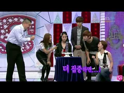 f(x) Krystal cut at SK - Brain wave test