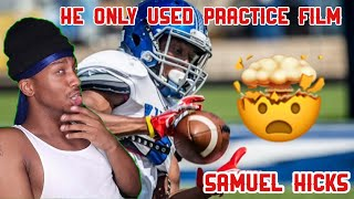 This Subscriber Got An Offer To Play College Football Only Using PRACTICE FILM🤯 *HOW?*
