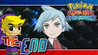 Let's Play Pokemon: Omega Ruby - The End - Champion Steven (Second Run)