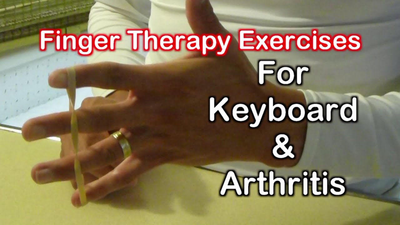 finger therapy exercises finger exercises for the keyboard arthritis youtube. Black Bedroom Furniture Sets. Home Design Ideas