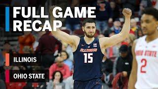 Full Game Recap: Illinois at Ohio State | Big Ten Basketball
