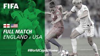 #WorldCupAtHome | England v USA (France 2019)
