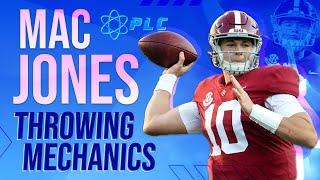 Mac Jones Throwing Mechanics Breakdown