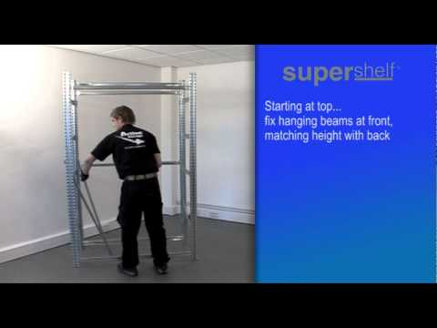 How to Build Supershelf™ Double Garment Hanging
