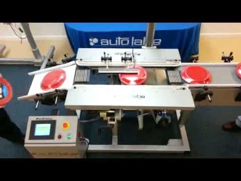 610S-Auto Labe Side Gripper and Bottom Labeling System