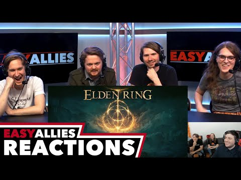 Elden Ring Reveal - Easy Allies Reactions