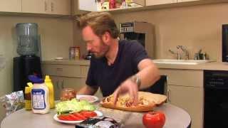 Conan's Ultimate Sandwich Recipe: Conan Takes Your Questions - Episode 2!