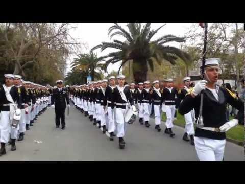 Academia Politecnica Naval 19 Sept. 2012 - Salida Parque O'higgins 1