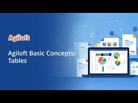 Agiloft Basic Concepts: Tables