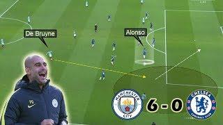 How Guardiola Destroyed Sarriball | Man City vs Chelsea 6-0 | Tactical Analysis