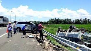 Hiện trường 5 ôtô vỡ nát trên cao tốc TP.HCM - Trung Lương