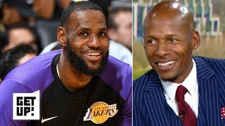The Lakers adding a second star would make playing with LeBron more enticing – Ray Allen | Get Up!