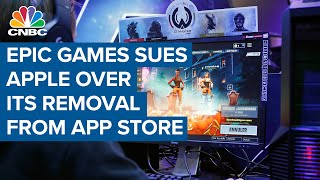 Epic Games sues Apple over its removal from the App Store
