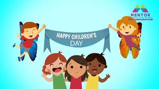 Happy Children's Day @ Mentor International School Pune