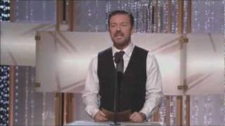 Ricky Gervais's performance at the Golden Globes offends Jon Stewart