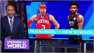 Kyrie Irving or Allen Iverson: Who is the better player?   Stephen A's World