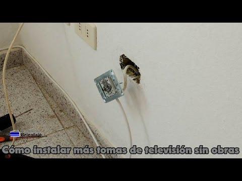 C mo instalar m s tomas de televisi n sin obras for Perdida de senal tv
