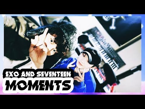 EXO AND SEVENTEEN MOMENTS