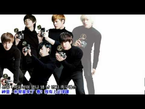 SuperJunior (Feat. f(x)) - Oops!! 繁體中韓字幕