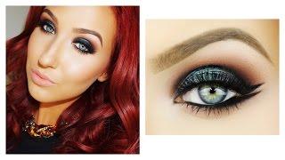 Emerald Smokey Eye & Double Wing Liner | Makeup Tutorial | Jaclyn Hill