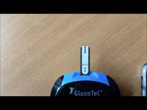 GlucoTel - Den Blutstropfen richtig auftragen