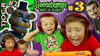 Goosebumps noite de jumpscares parte 3 w / FNAF TJOC renascer Parte 2
