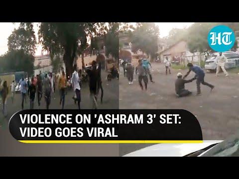 Bajrang Dal activists attack crew of Bobby Deol's Ashram 3, ink thrown at director Prakash Jha
