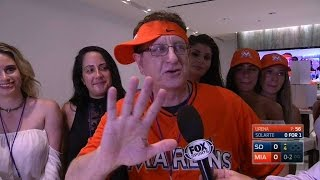 SD@MIA: Booth talks to Marlins Man about giving back