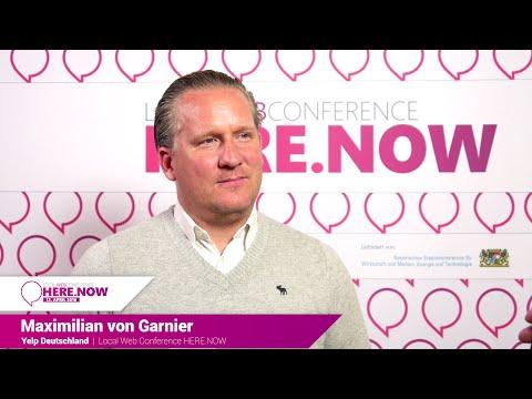 Interview: Maximilian von Garnier über lokale Empfehlungen mit Yelp