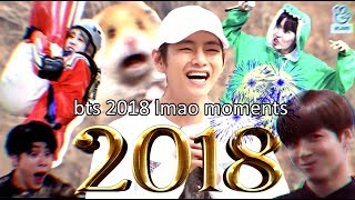 BTS 2018 moments that made me lmao