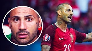 Why does Ricardo Quaresma have tear drop tattoos on his cheek? - Oh My Goal