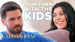 Kourtney Kardashian & Scott Disick's Best Co-Parenting Moments | KUWTK | E!