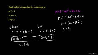Zapis polinoma 1