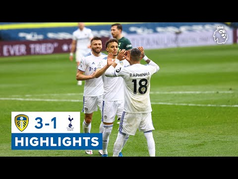 Highlights: Leeds United 3-1 Tottenham Hotspur   Rodrigo seals win!   Premier League