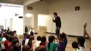 Tom Kenny at Alexander Science Center School