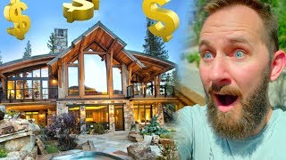 $1,000,000 Log Cabin For a Week!