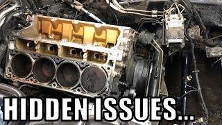 C5 Corvette Heads and Cam Install Part 1!